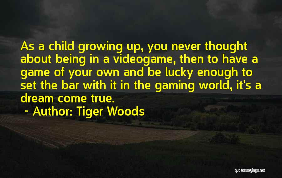 In Your Own World Quotes By Tiger Woods