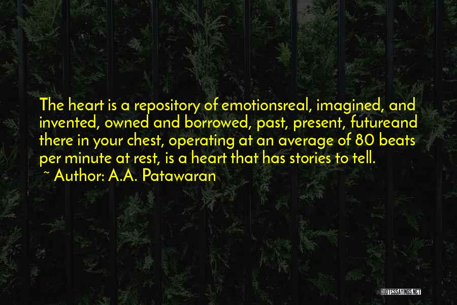 In Your Past Quotes By A.A. Patawaran