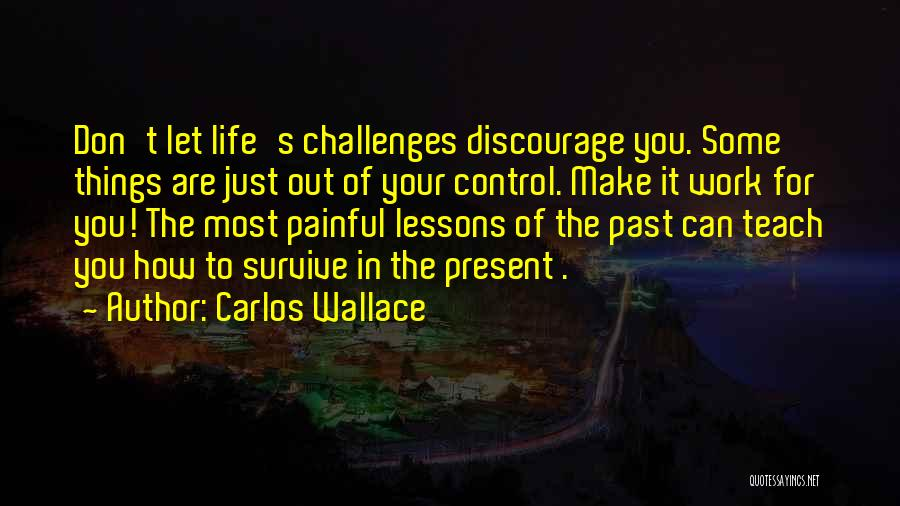 In Your Past Quotes By Carlos Wallace