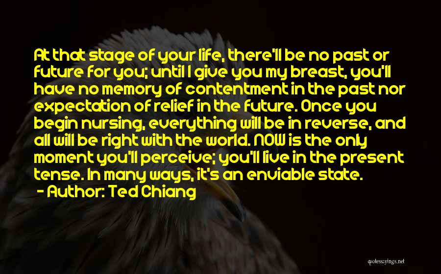 In Your Past Quotes By Ted Chiang