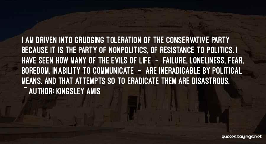 Inability To Communicate Quotes By Kingsley Amis