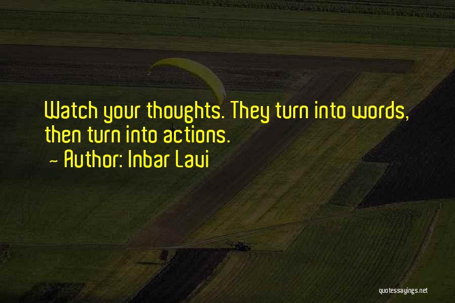 Inbar Lavi Quotes 223771
