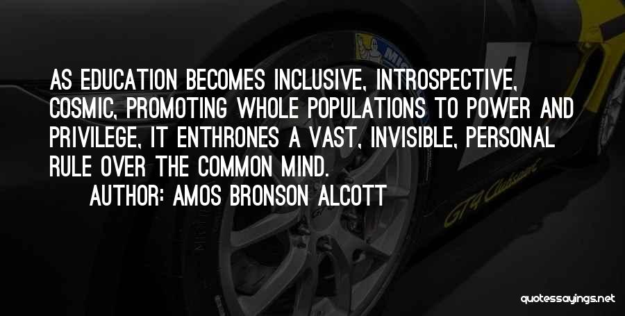 Inclusive Education Quotes By Amos Bronson Alcott