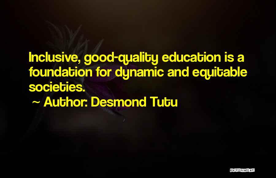 Inclusive Education Quotes By Desmond Tutu
