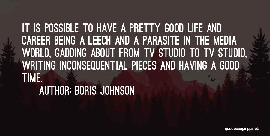 Inconsequential Quotes By Boris Johnson