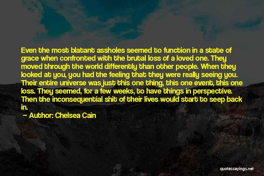 Inconsequential Quotes By Chelsea Cain