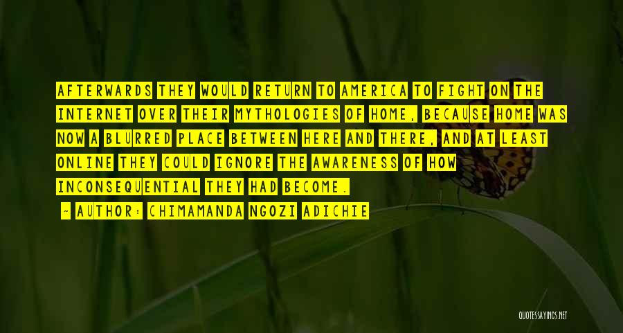 Inconsequential Quotes By Chimamanda Ngozi Adichie