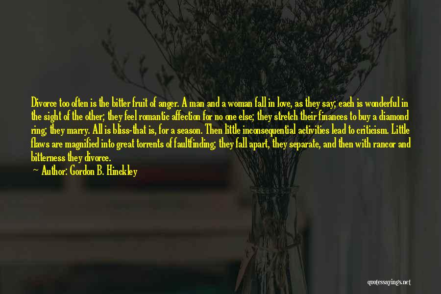 Inconsequential Quotes By Gordon B. Hinckley