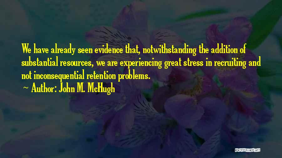 Inconsequential Quotes By John M. McHugh