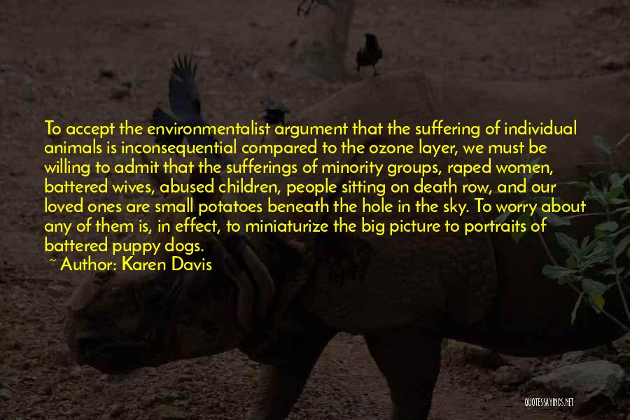 Inconsequential Quotes By Karen Davis