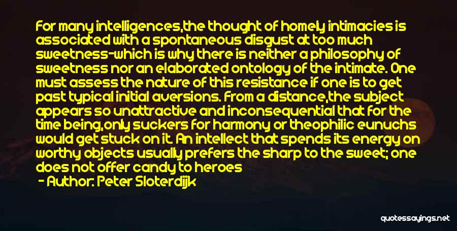Inconsequential Quotes By Peter Sloterdijk