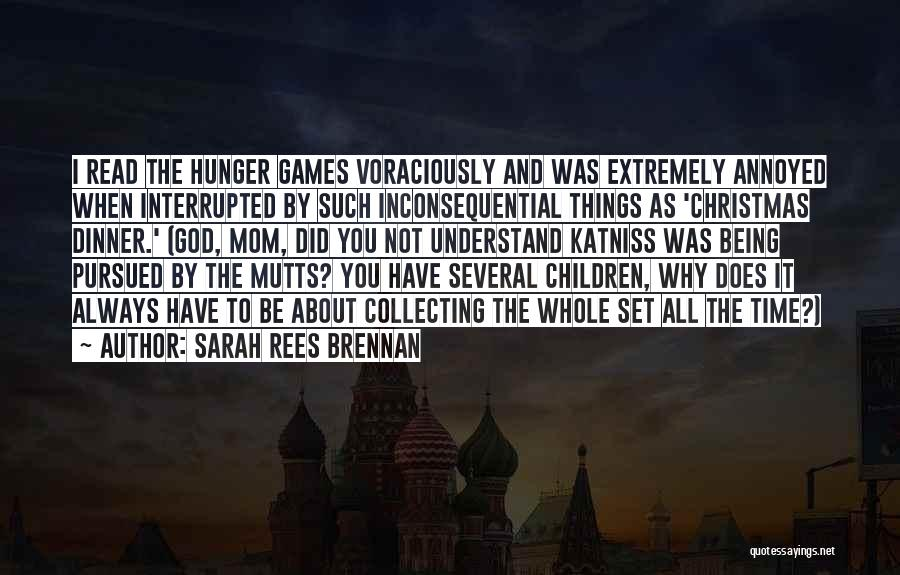 Inconsequential Quotes By Sarah Rees Brennan