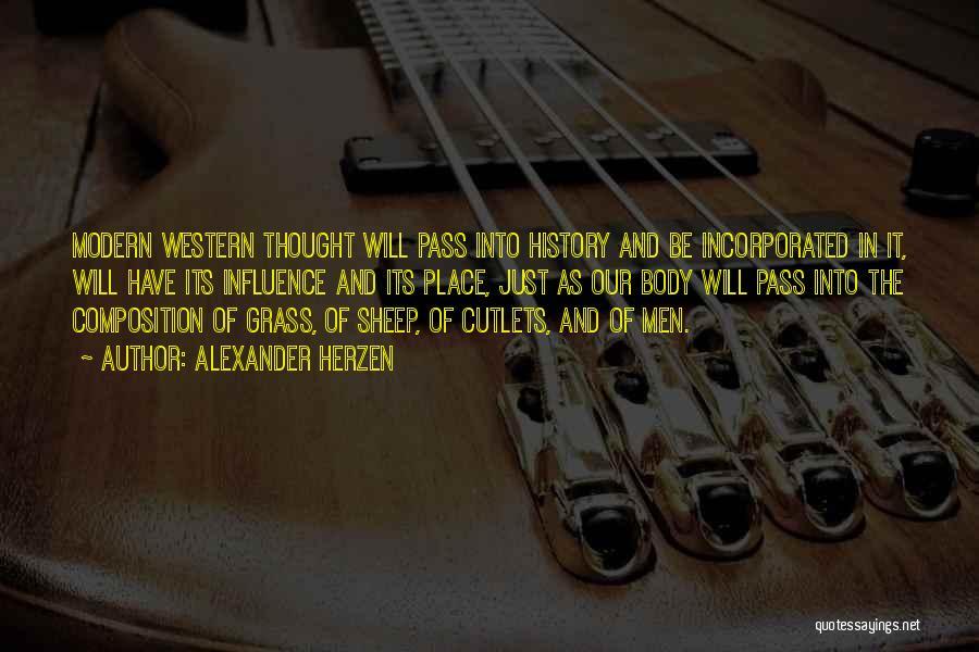 Incorporated Quotes By Alexander Herzen