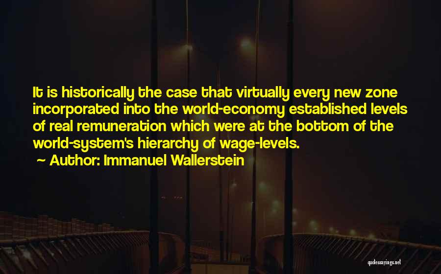 Incorporated Quotes By Immanuel Wallerstein