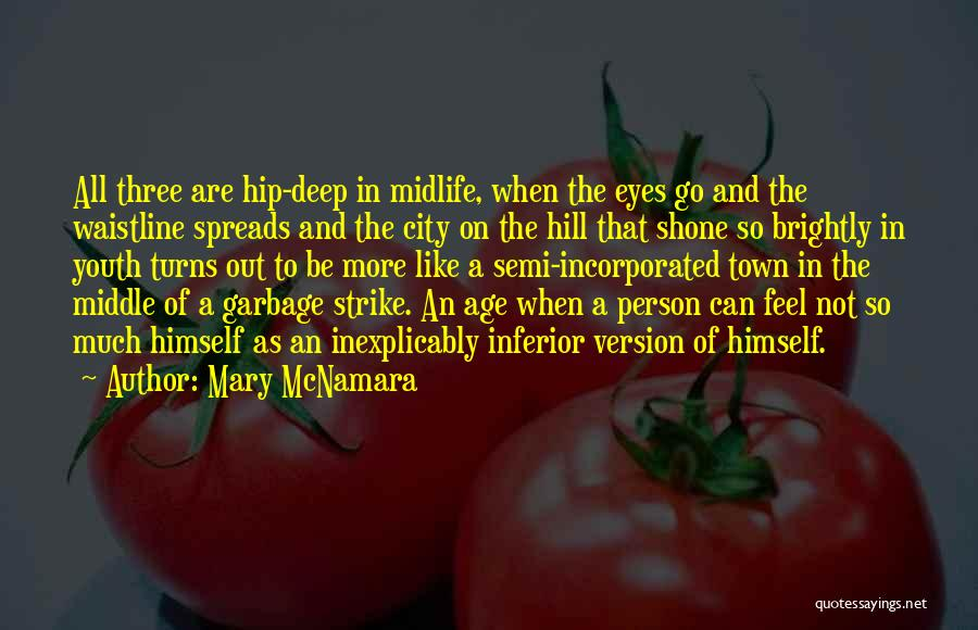 Incorporated Quotes By Mary McNamara
