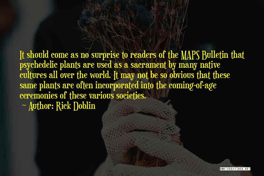 Incorporated Quotes By Rick Doblin