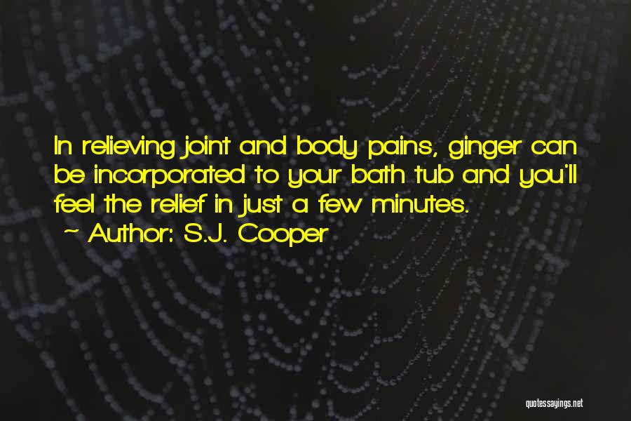Incorporated Quotes By S.J. Cooper