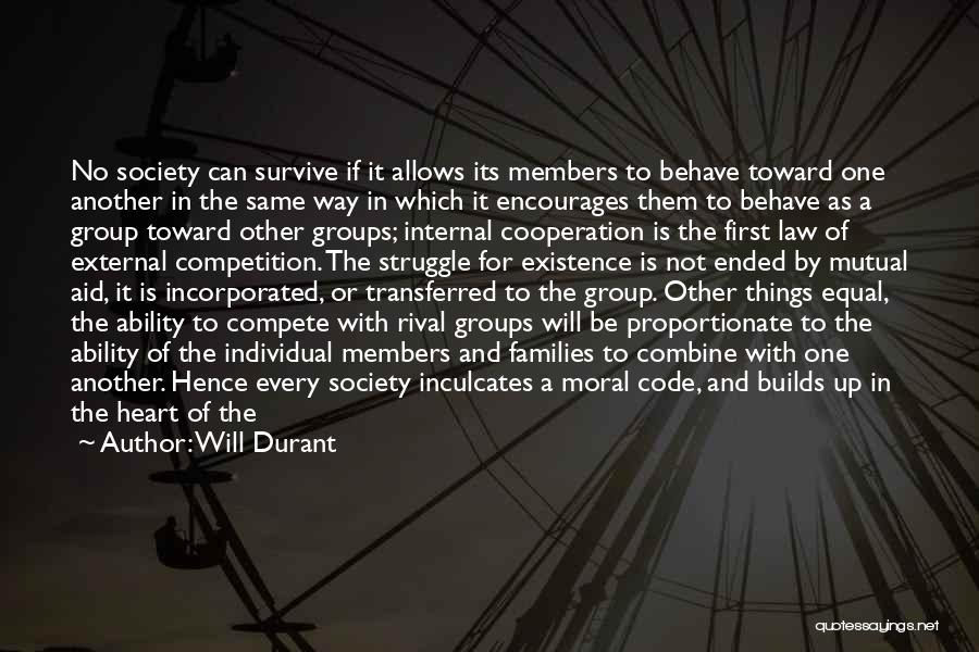 Incorporated Quotes By Will Durant