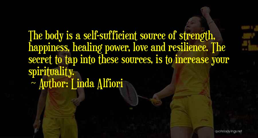 Increase Happiness Quotes By Linda Alfiori