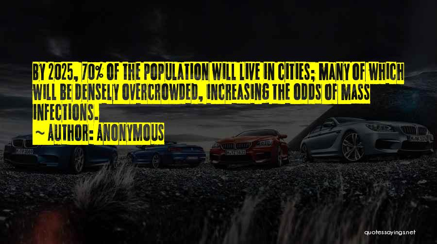 Increasing Population Quotes By Anonymous