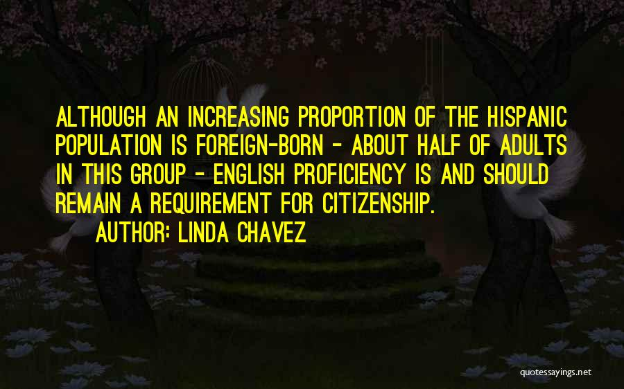 Increasing Population Quotes By Linda Chavez