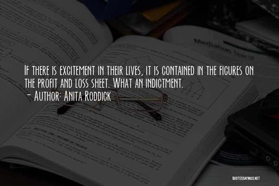 Indictment Quotes By Anita Roddick