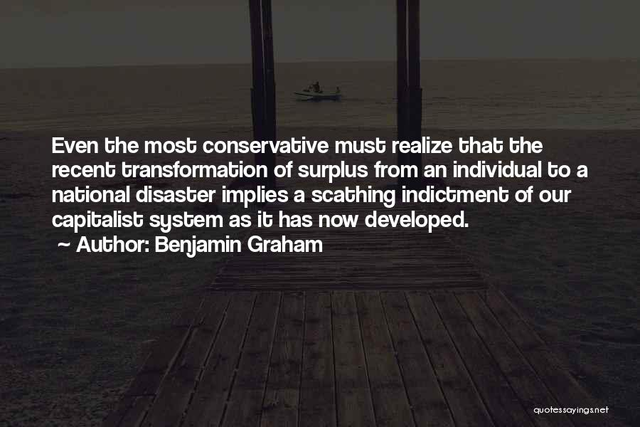 Indictment Quotes By Benjamin Graham