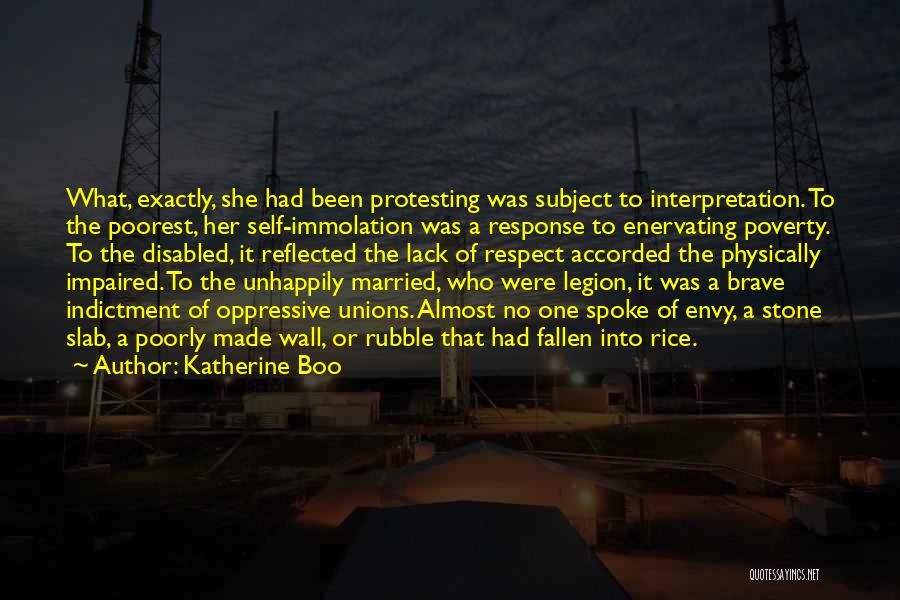 Indictment Quotes By Katherine Boo