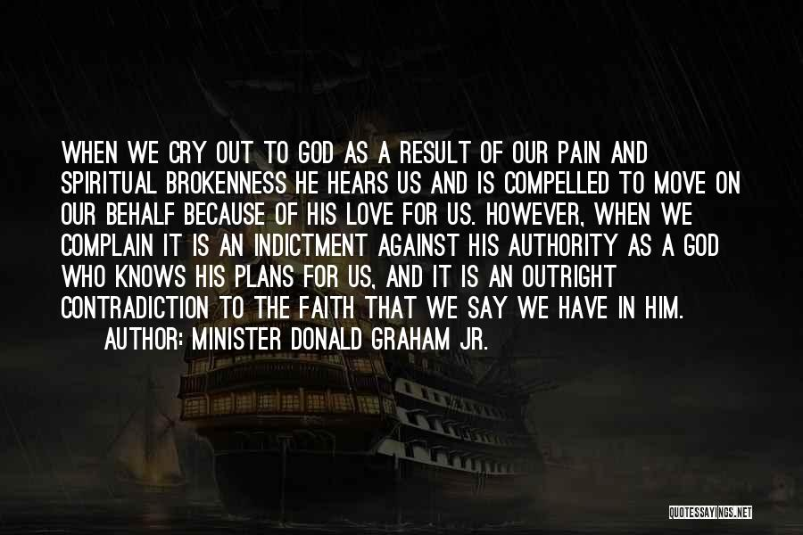Indictment Quotes By Minister Donald Graham Jr.