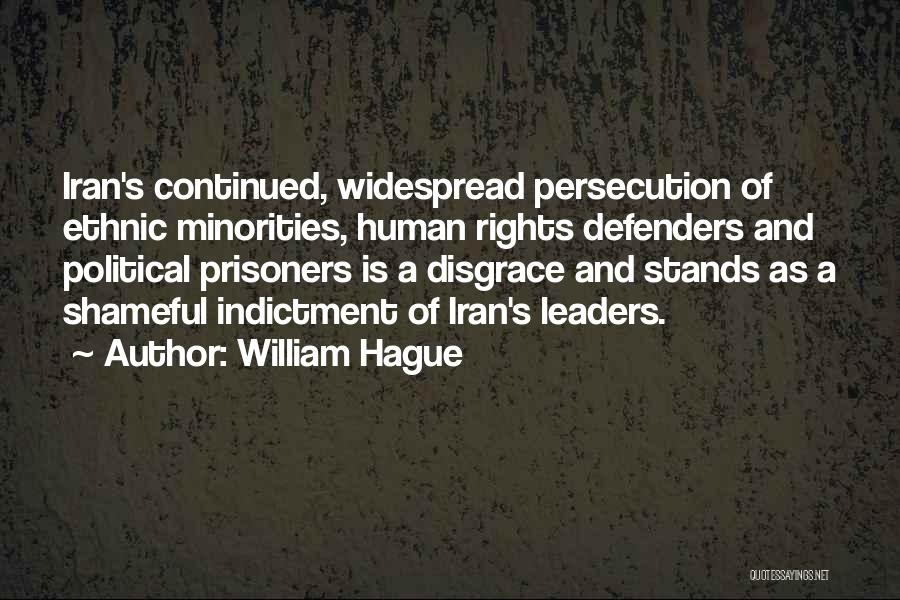 Indictment Quotes By William Hague