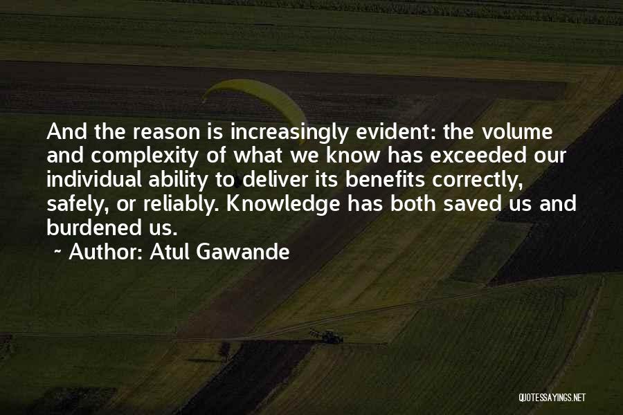 Individual Quotes By Atul Gawande