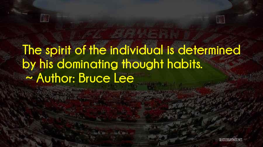 Individual Quotes By Bruce Lee