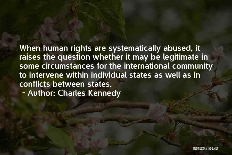 Individual Quotes By Charles Kennedy