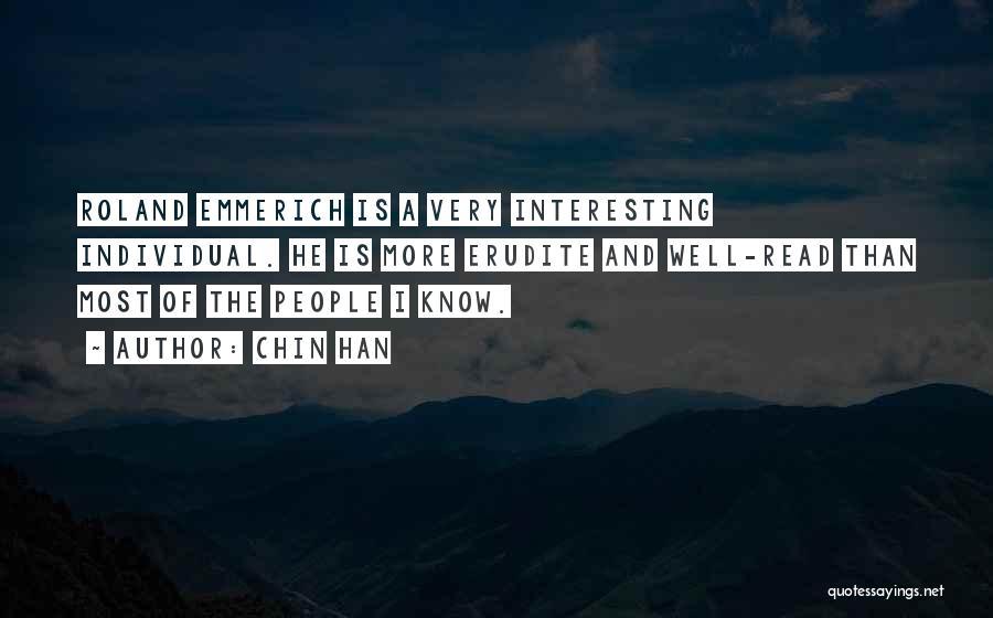 Individual Quotes By Chin Han