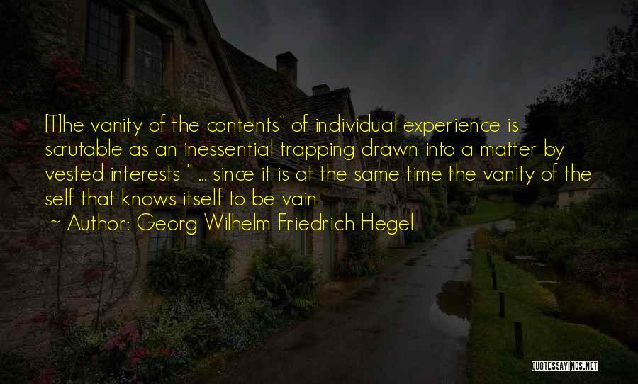 Individual Quotes By Georg Wilhelm Friedrich Hegel