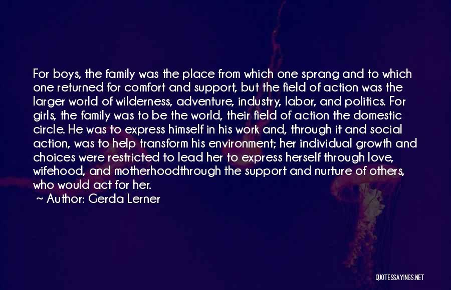 Individual Quotes By Gerda Lerner