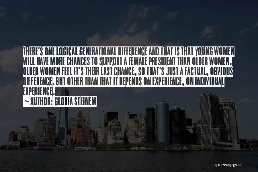 Individual Quotes By Gloria Steinem