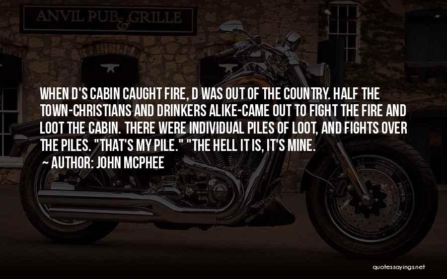 Individual Quotes By John McPhee