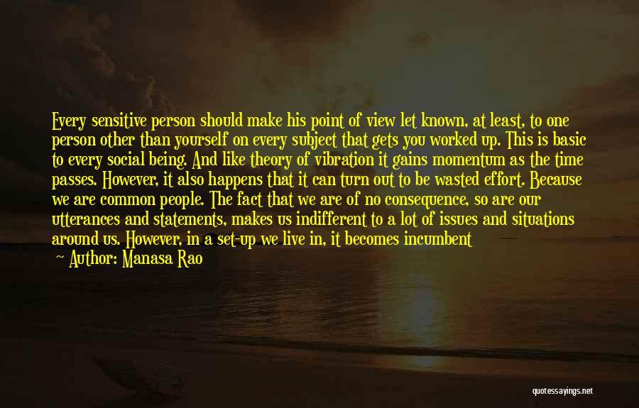 Individual Quotes By Manasa Rao