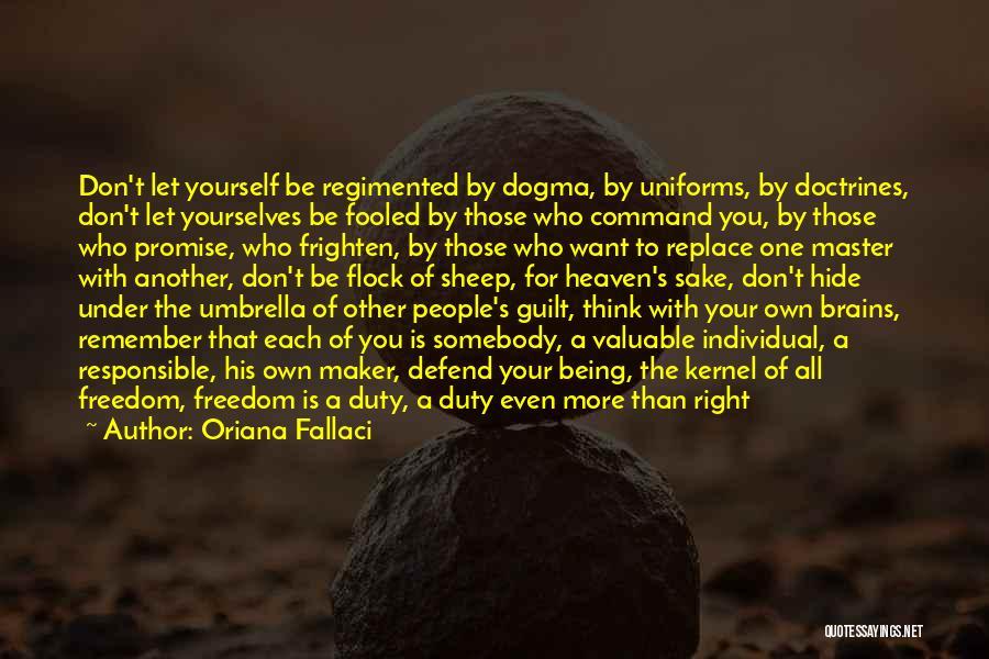 Individual Quotes By Oriana Fallaci