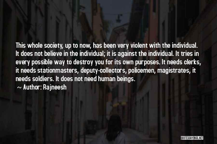Individual Quotes By Rajneesh