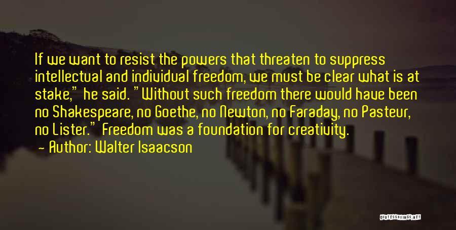 Individual Quotes By Walter Isaacson