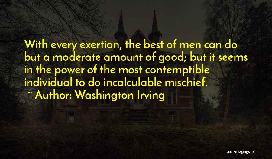 Individual Quotes By Washington Irving