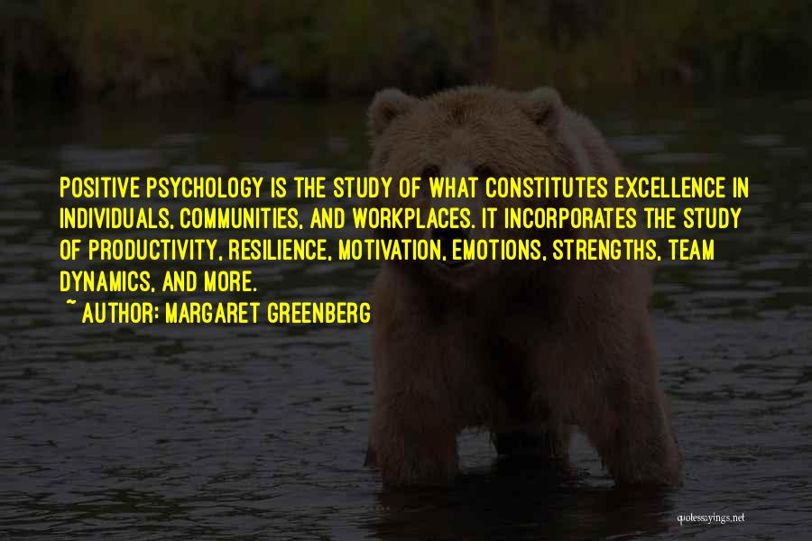 Individuals And Team Quotes By Margaret Greenberg