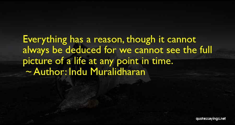 Indu Muralidharan Quotes 1777596