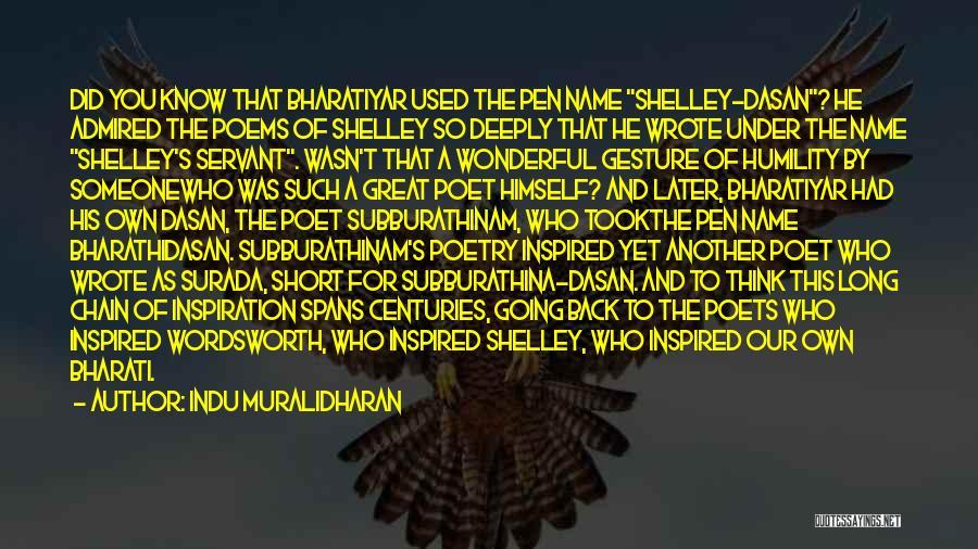 Indu Muralidharan Quotes 2011856