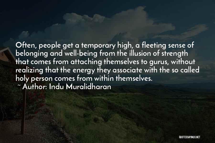Indu Muralidharan Quotes 2091397