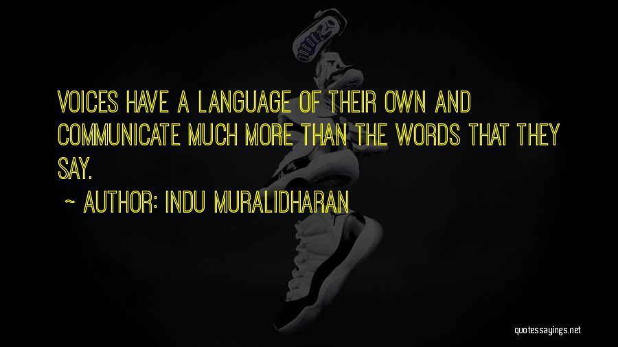 Indu Muralidharan Quotes 460368