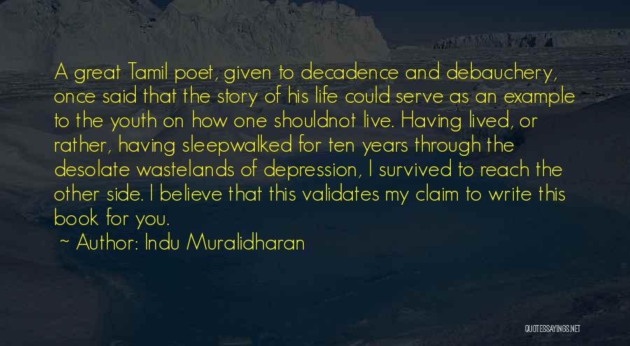 Indu Muralidharan Quotes 89628