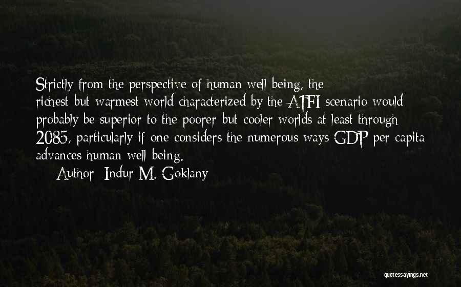 Indur M. Goklany Quotes 366219